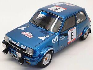 Otto 1/18 Scale  OT580 - Renault 5 Alpine Gr.2 1980 - Blue