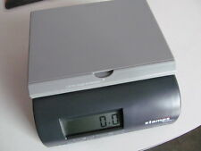 STAMPS.COM 500s POSTAL SCALE 5 LBS 9v Battery or AC Adapter Driven  6 x 6 x 3""