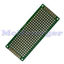 Drilled Double sided Copper Prototype PCB Matrix Epoxy Glass Fibre Board 30x70mm