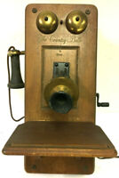 """Guild Model 556  """"The Country Belle"""" Vintage Wall Phone Tube Radio AM/FM Antique"""