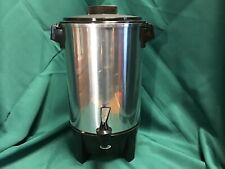 Vtg West Bend 12-30 Cup Coffee Pot Party Percolator Urn #58030 USA MADE
