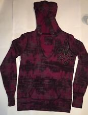 Maurice's Women's Hooded Graphic Studded Sweatshirt Size M