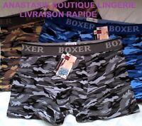 lingerielot 3 boxers L sousvetement homme/garçon coton95%slipcaleçonscamouflage