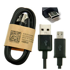 Micro USB Data Sync Charger Cable Lead For HTC Samsung LG Phones Tablets Black