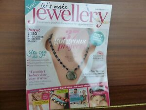 LET'S MAKE JEWELLERY MAGAZINE  with 37 PROJECTS
