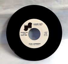 DAVID COPPERFIELD 45 - Summer Days / Me and My Leslie - JANUS, 1973 Promo, M