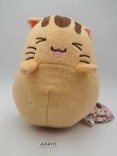 "Little Busters A2412 Doruji Dorj Cat Sk Japan 5.5"" Plush TAG Stuffed Toy Doll"