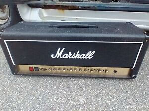Marshall DSL100H & 2 MX412A speakers.