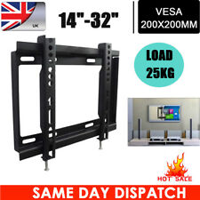 "Wall Mount Bracket  LED LCD Plasma TV 14 17 19 20 22 24 26 28 30 32"" Inch VESA"