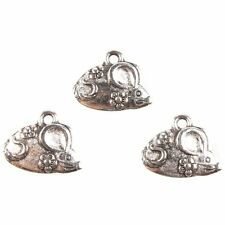 200x New Arrival Antique Silver Cute Mouse Charms Alloy Connector Makings Lots J