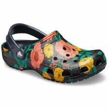 Crocs Classic Printed Floral Unisex Clog in Various Colours and Sizes