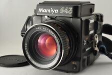 Near MINT MAMIYA M645 Super w/ SEKOR C 80mm f/2.8 120 Film Back from Japan #2402