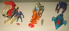 Lot de 3 figurines et engins Titan A.E. Hasbro