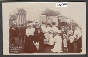 Postcard Whimple nr Exeter Devon ladies at the Cricket Club Fete early RP