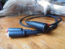 Cable rallonge 1 mêtre RCA Tellurium pour casque spécial ampli Devialet