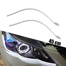2X 45cm 12V White LED Headlight Daytime DRL Tube Strip Lights For Japanese Car