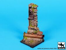 Black Dog 1/35 Post Apocalyptic Wall Section w/Pipes Vignette Diorama Base FD013