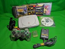 Sony PlayStation 1 PS One Slim Console Complete Bundle w/ 5 games