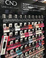 CND SHELLAC LUXE 60 Second Removal GEL POLISH Pick from 65 Colors or Top NEW NIB
