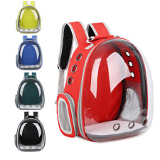 Cat Kitten Carrier Transparent Space Capsule Pet Carrier Puppy Dog Backpack