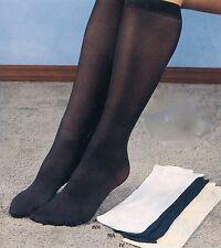 Women's Trouser Socks (wide Calf) Ivory Sz 6-8 4Pk New