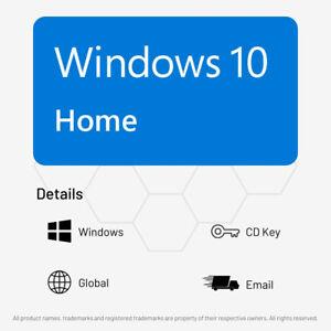 Windows 10 Home (Retail Edition) - Digital CD Key