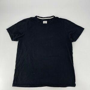 Rag & Bone T-Shirt Mens Size XL Black Short Sleeve Crew Neck Tee Standard Issue