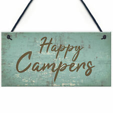 Caravan Signs and Plaques Novelty Camping Holiday Chic Mum Dad Nan Gift for Her