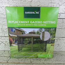 New listing Gardenline Gazebo 10 x 10 Universal Mosquito Netting Replacement Net 47052
