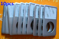 10pcs Front Faceplate Housing Case Cover for iPod Classic 7th Gen 160GB(Silver)