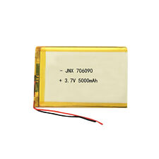 1* 3.7V 5000mAh 706090 Li-Ion RC Li-Polymer Batterien für GPS iPod Tablet PC
