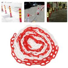 Plastic Chain Road Warning Block Barrier for Traffic Crowd Parking Control El