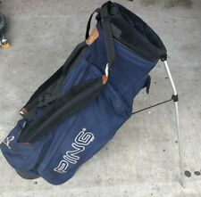 Ping Hoofer Type Golf Stand And Carry Bag With 4 Way Divider Dual Strap Light