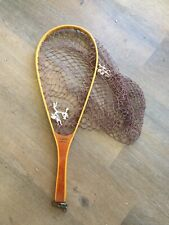 VINTAGE COLUMBIA FLY FISHING NET CLM 21A Trout