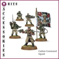 BITS ASTRA MILITARUM CADIAN COMMAND SQUAD WARHAMMER 40,000 40K