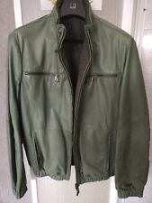 NEW GIACCA ETRO HOODED LEATHER BIKER COAT BOMBER JACKET! GIUBBOTTO PELLE 1750 EU