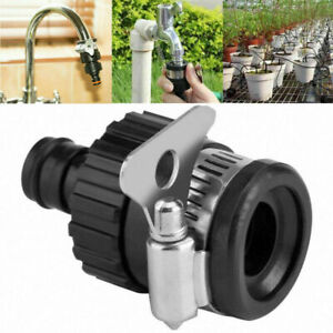 Tap Connector Adapter Mixer Garden Kitchen Hose Pipe Joiner Fitting Universal