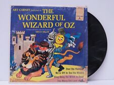 Golden Record WIZARD OF OZ Told By ART CARNEY Vinyl Record LP 153