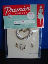 Vintage Barbie Jewelry- 1960s Premier- Fits Tammy Also