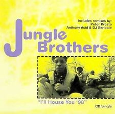 I'll House You '98 [US] [Single] by Jungle Brothers/The Toxik Twins (CD, May-199