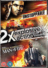 Unstoppable / Man On Fire (DVD, 2012, 2-Disc Set)