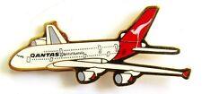 10362 QANTAS AUSTRALIA AIRLINES A380 AIRBUS PLANE AVIATION GOLD LAPEL PIN BADGE