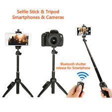 Mini Tripod Camera & Phone Dual Use Adjustable Selfie Stick Cell Phone Smart RC