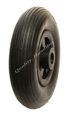 "8 ""Puncture PROOF WHEELS 200 x 50mm assistenza gratuita, PIATTO libero, CARRELLO, carrello a mano"