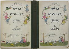 A. A. MILNE AND ERNEST SHEPARD When We Were Very Young SIGNED LIMITED US EDITION