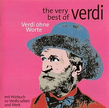 THE VERY BEST OF VERDI + VERDI OHNE WORTE / 2 CD-SET - TOP-ZUSTAND