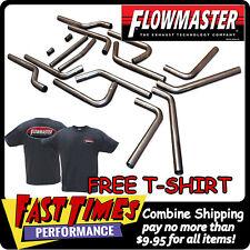 "FLOWMASTER U-Fit Universal 2.5"" 16-Piece Mandrel-Bent Dual Exhaust Pipe Kit"