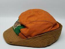 IDEAL Hunter's Hat Racoon on front Orange 7-3/8 sportsman