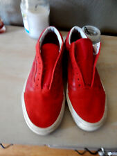 Vans-Era-Canvas-Suede-Racing-Red-Size-10