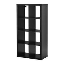 IKEA KALLAX Regal in schwarzbraun (77x147cm) Passend zu EXPEDIT Raumteiler